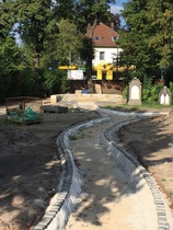 Bauarbeiten Neuanlage St.-Petri Burgwedel